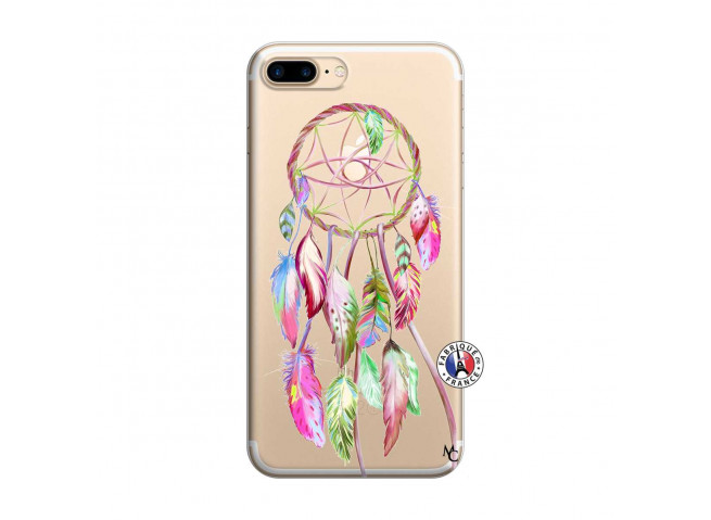 Coque iPhone 7 Plus/8 Plus Pink Painted Dreamcatcher