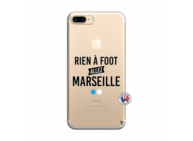 Coque iPhone 7 Plus/8 Plus Rien A Foot Allez Marseille