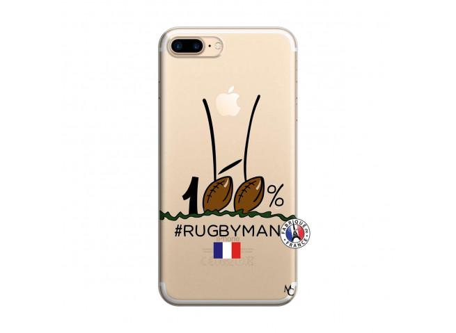 Coque iPhone 7 Plus/8 Plus 100 % Rugbyman Entre les Poteaux