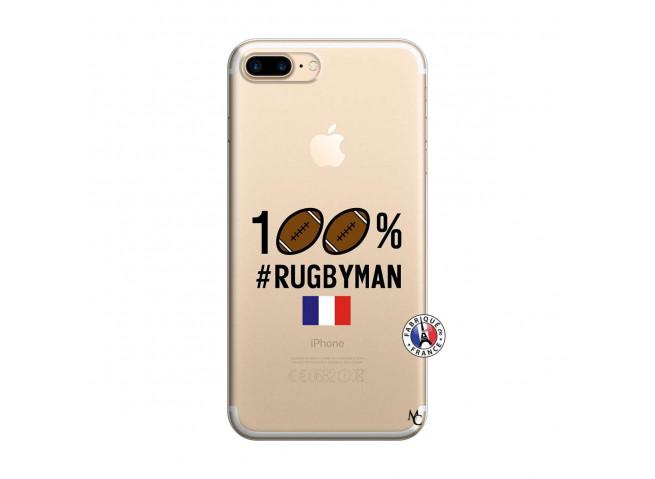 Coque iPhone 7 Plus/8 Plus 100% Rugbyman