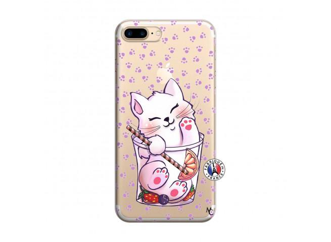 Coque iPhone 7 Plus/8 Plus Smoothie Cat