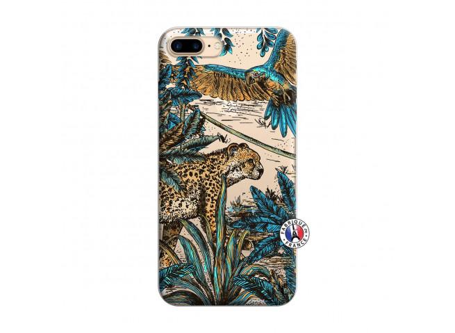 Coque iPhone 7 Plus/8 Plus Leopard Jungle