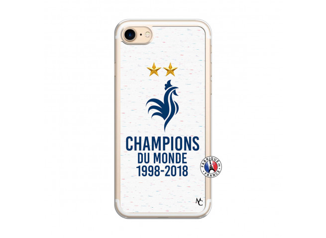 Coque iPhone 7/8 Champion Du Monde Translu