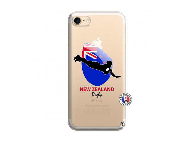 Coque iPhone 7/8 Coupe du Monde Rugby- Nouvelle Zélande