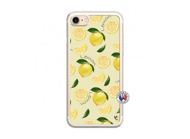 Coque iPhone 7/8 Sorbet Citron Translu
