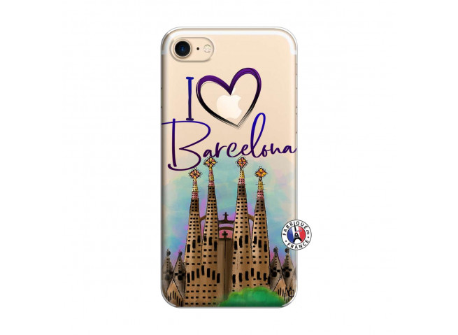 Coque iPhone 7/8 I Love Barcelona