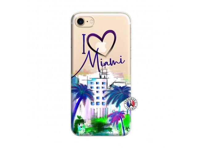 Coque iPhone 7/8 I Love Miami