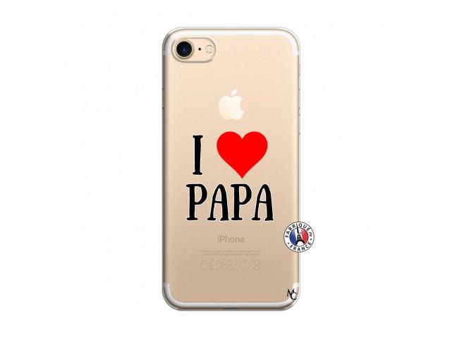 Coque iPhone 7/8 I Love Papa