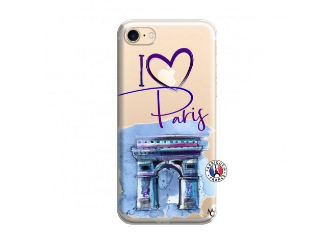 Coque iPhone 7/8 I Love Paris Arc Triomphe