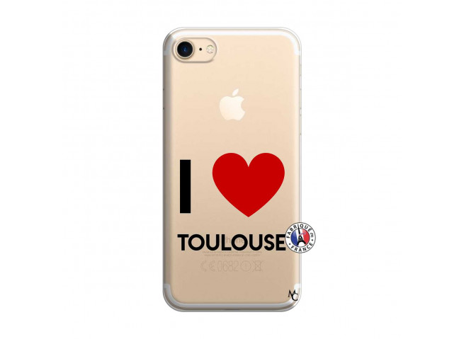 Coque iPhone 7/8 I Love Toulouse