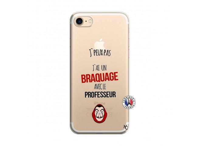 Coque iPhone 7/8 J Peux Pas J Ai Un Braquage Avec Le Professeur