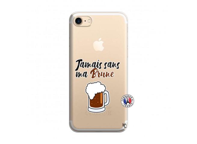 Coque iPhone 7/8 Jamais Sans Ma Brune