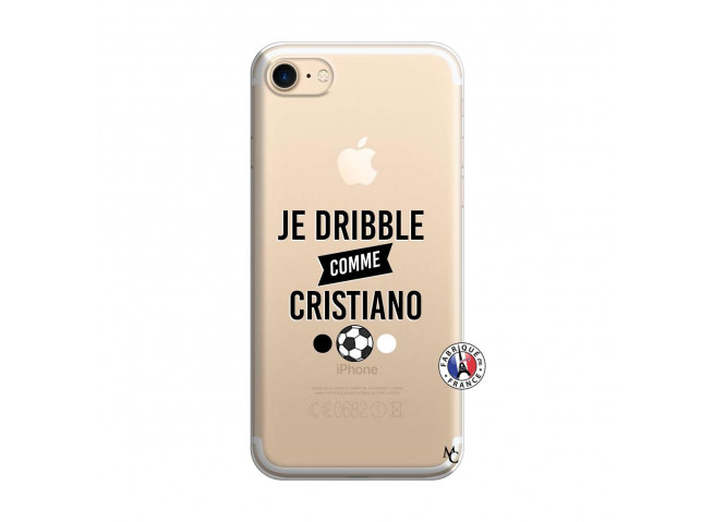 Coque iPhone 7/8 Je Dribble Comme Cristiano