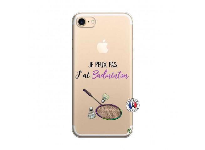 Coque iPhone 7/8 Je Peux Pas J Ai Badminton