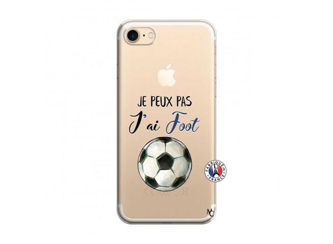Coque iPhone 7/8 Je peux pas j'ai Foot