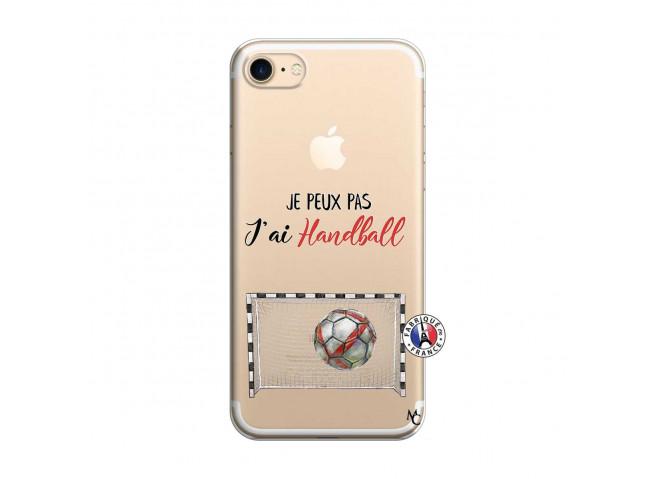 Coque iPhone 7/8 Je peux pas j'ai Handball