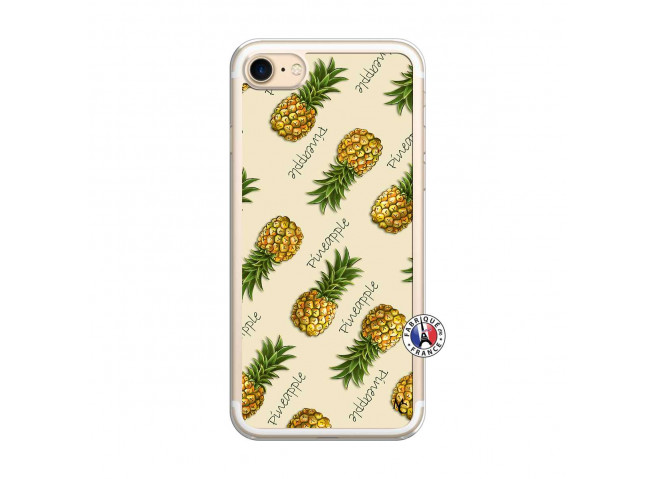Coque iPhone 7/8 Sorbet Ananas Translu