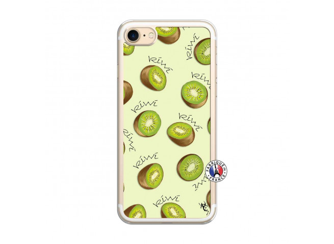 Coque iPhone 7/8 Sorbet Kiwi Translu