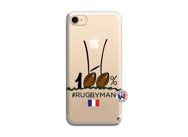 Coque iPhone 7/8 100 % Rugbyman Entre les Poteaux