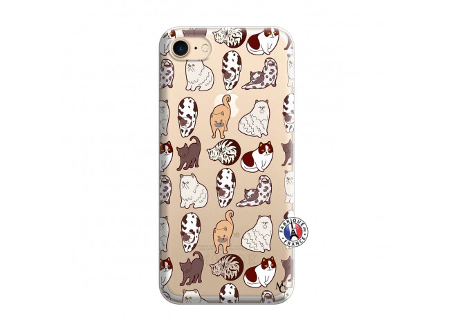 Coque iPhone 7/8/se 2020 Cat Pattern