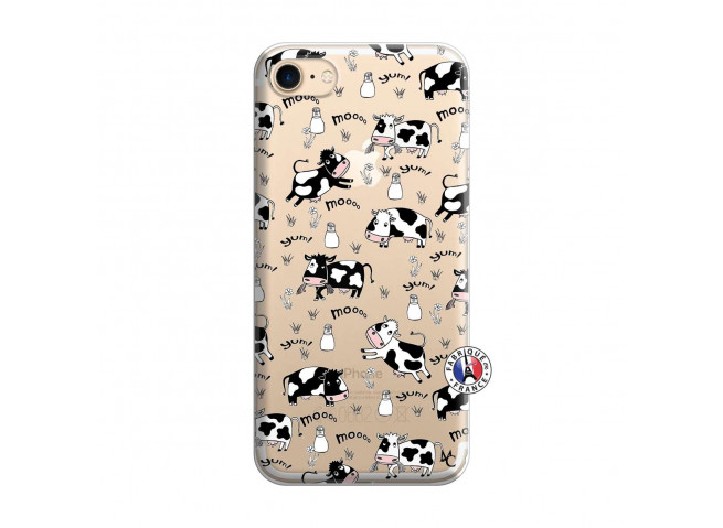 Coque iPhone 7/8/se 2020 Cow Pattern