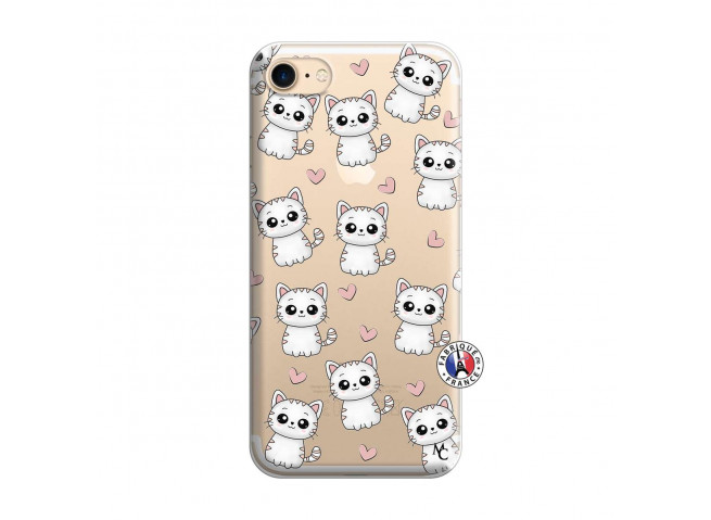 Coque iPhone 7/8/se 2020 Petits Chats