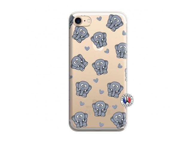 Coque iPhone 7/8/se 2020 Petits Elephants