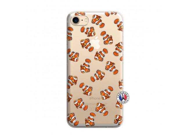 Coque iPhone 7/8/se 2020 Petits Poissons Clown