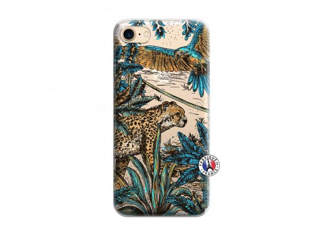 Coque iPhone 7/8/se 2020 Leopard Jungle