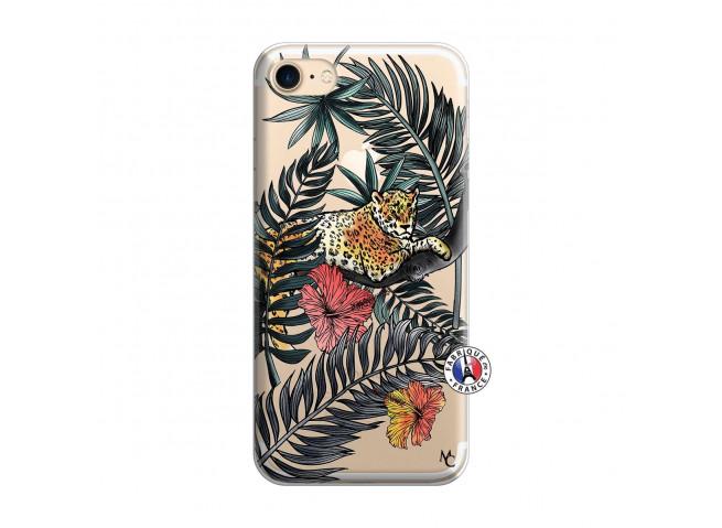 Coque iPhone 7/8/se 2020 Leopard Tree