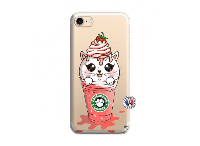 Coque iPhone 7/8 Catpucino Ice Cream
