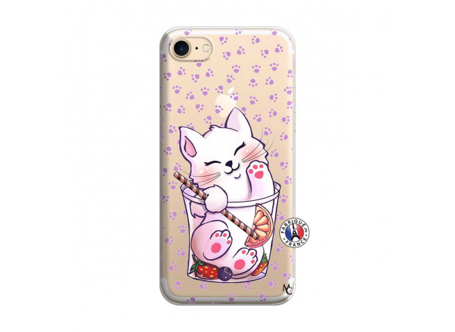 Coque iPhone 7/8 Smoothie Cat
