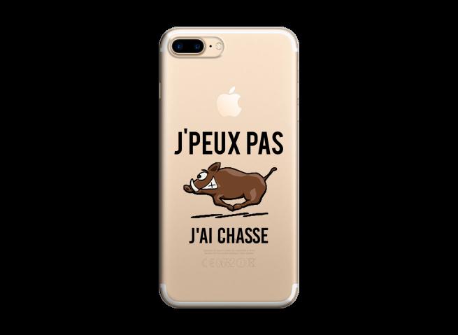 Coque iPhone 7Plus/8Plus J Ai Chasse