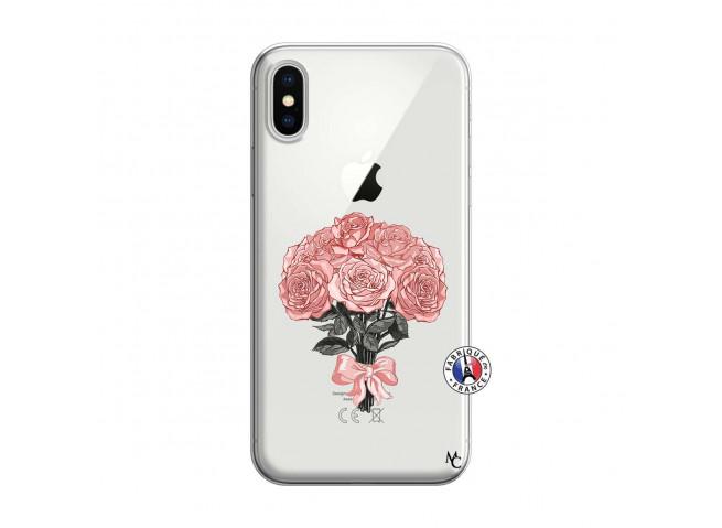 Coque iPhone X/XS Bouquet de Roses