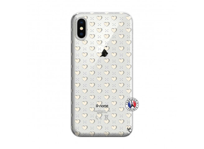 Coque iPhone X/XS Little Hearts