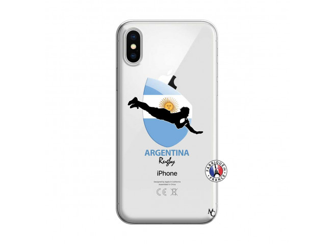 Coque iPhone X/XS Coupe du Monde Rugby-Argentina