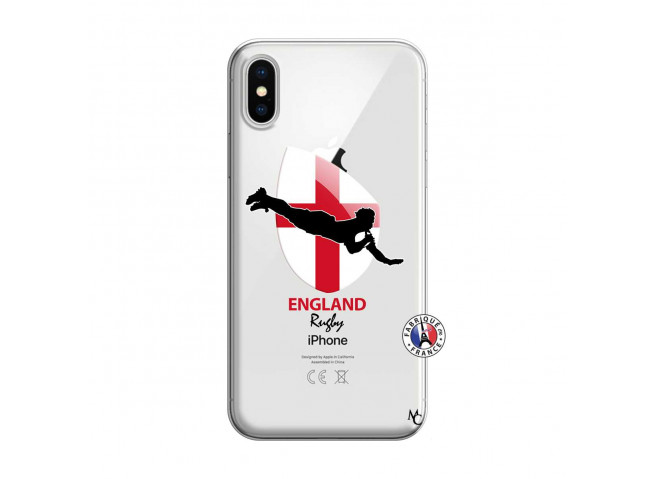 Coque iPhone X/XS Coupe du Monde Rugby-England