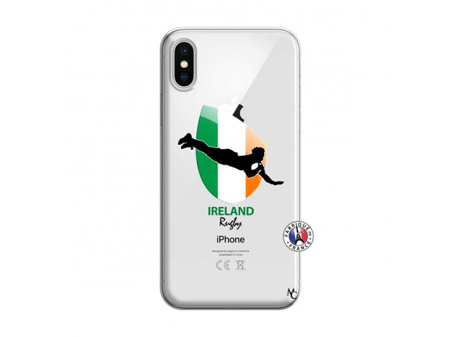 Coque iPhone X/XS Coupe du Monde Rugby-Ireland