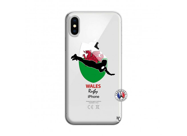 Coque iPhone X/XS Coupe du Monde Rugby-Walles