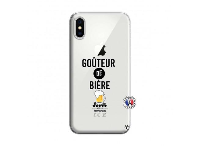 Coque iPhone X/XS Gouteur De Biere