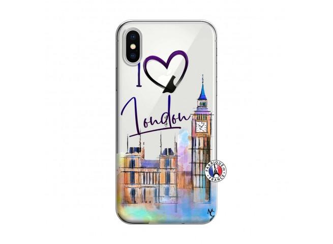 Coque iPhone X/XS I Love London