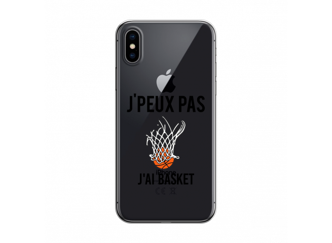 Coque iPhone X/XS J Ai Basket