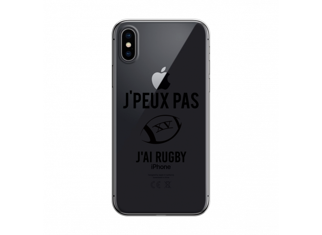 Coque iPhone X/XS J Ai Rugby