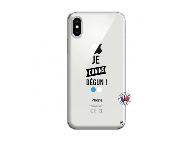 Coque iPhone X/XS Je Crains Degun