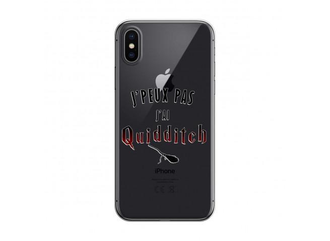 Coque iPhone X/XS Hybrid J' peux pas j'ai Quidditch