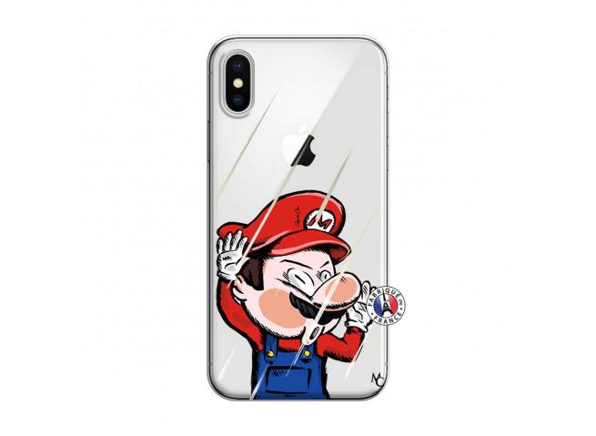 Coque iPhone X/XS Mario Impact