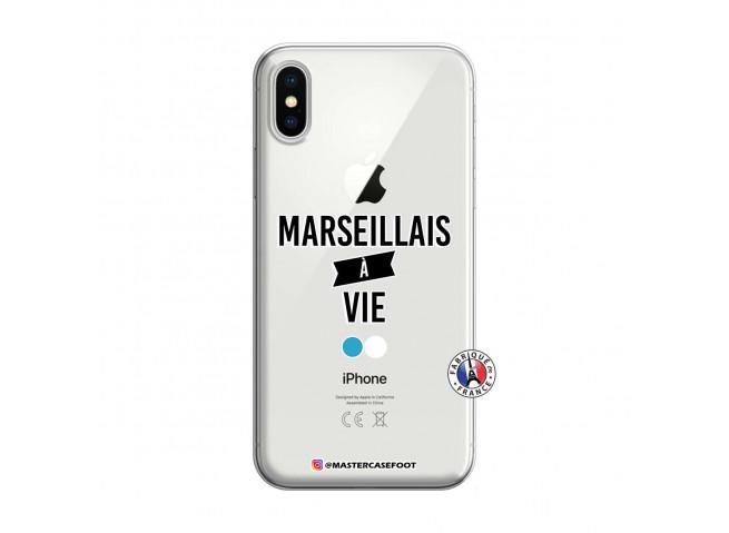 Coque iPhone X/XS Marseillais à Vie