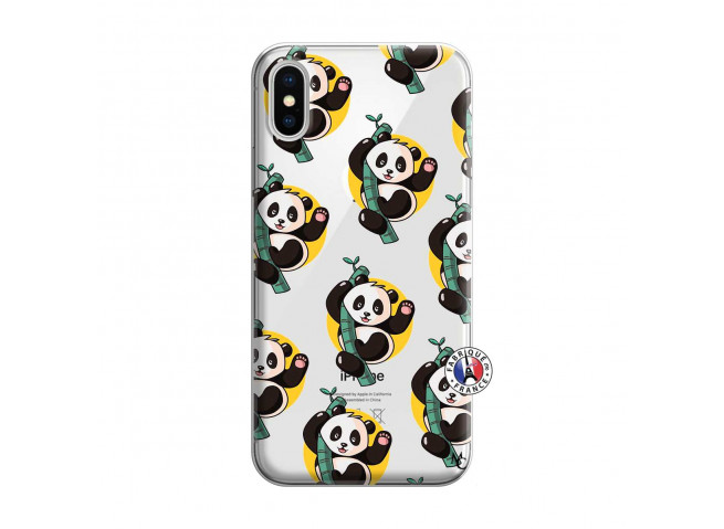Coque iPhone X/XS Pandi Panda