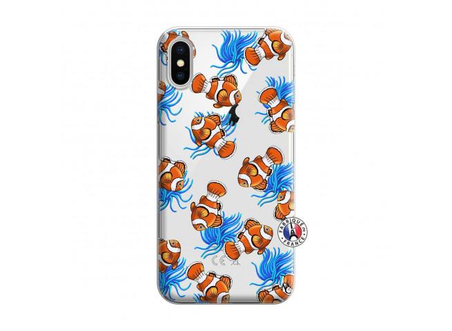 Coque iPhone X/XS Poisson Clown