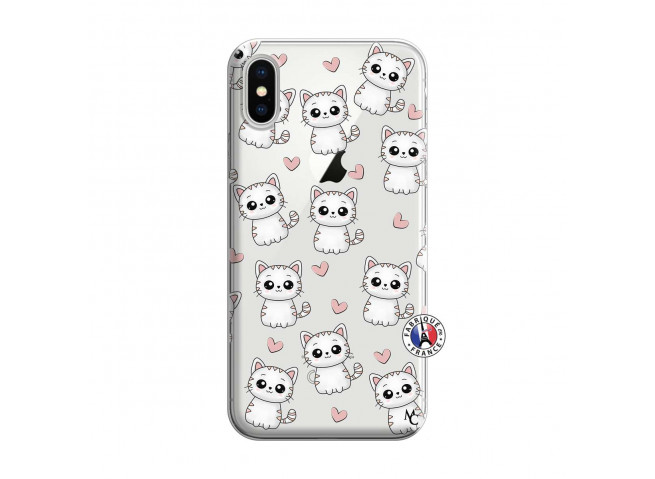Coque iPhone X/XS Petits Chats